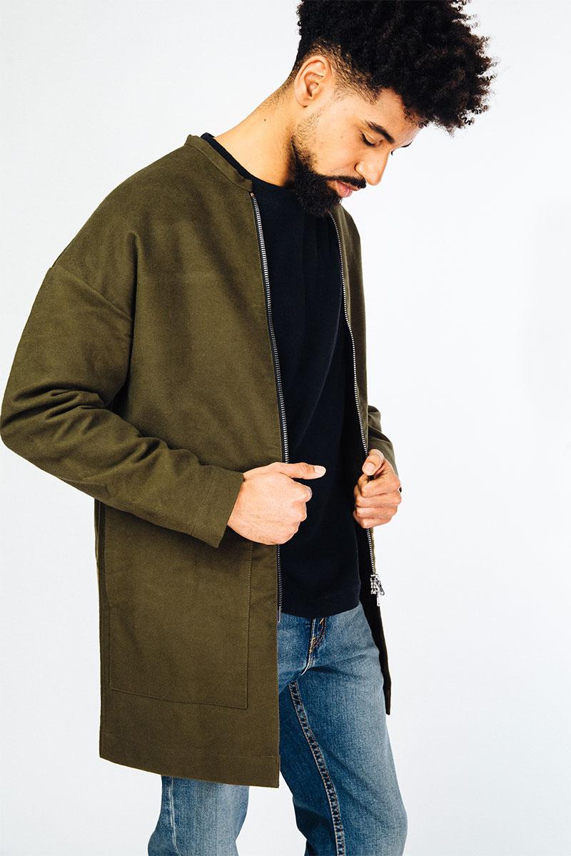Coat NILS, khaki from MYRKA studios