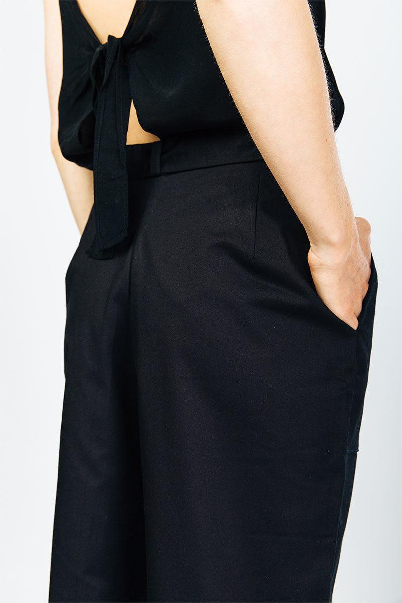 myrka-organic-cotton-culotte-black
